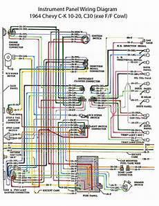 cer to truck wiring diagram electric wiring diagram instrument panel 60s chevy c10 wiring electric chevy