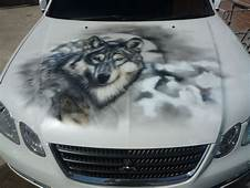 Wolf Airbrush  Car Painting Art Paint Jobs