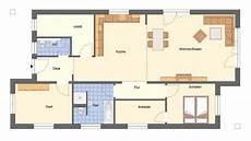 Schmaler Bungalow Grundriss - bungalow spreeblick schmal lang modern grundriss