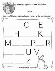 missing capital letters worksheet free printable doozy moo