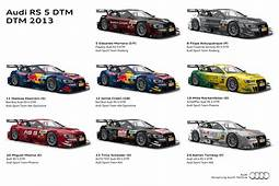2013 Audi RS 5 DTM Liveries  Fourtitudecom