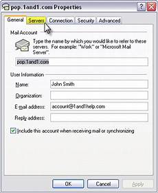 how to setup a 1and1 email account with outlook