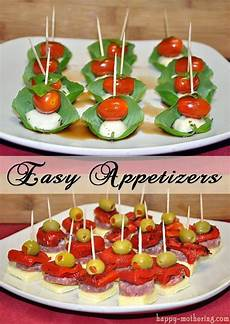 easy appetizers caprese and antipasto skewers discover