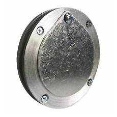 Puluz Pu363 Quarter Inch Interface by 4 Inch Aluminum Exhaust Port For Doors Up To 1 4 Inch