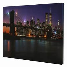 the bridge led light up lighted canvas painting picture wall art decor ebay