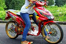 Variasi Motor Beat Karbu by 50 Foto Gambar Modifikasi Beat Kontes Racing Jari