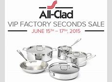 All Clad VIP Factory Sales: Limited Time Discounts on