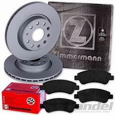 zimmermann discos de freno 266mm pastillas de freno