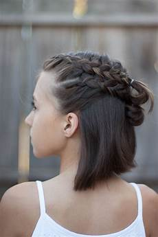 5 braids for short hair cute hairstyles