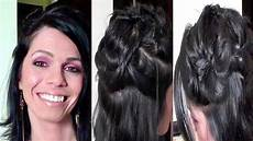 Tuto Coiffure Cheveux Courts Mi Longs