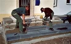 Blockstufen Beton Setzen - blockstufen beton gel 228 nder f 252 r au 223 en