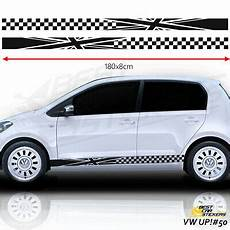 vw up chiptuning fits vw up side racing stripes car stickers tuning car