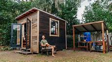 simple and sustainable living in my 100 square foot tiny house youtube