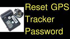 pwd fail gps tracker reset gps tracker password forgot password youtube