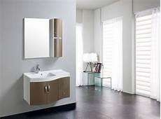 mobile specchio per bagno mobile arredo bagno completo pensile 90cm marrone lavabo