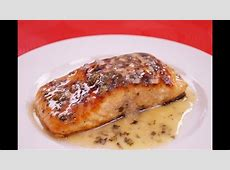 lemon caper cream sauce for salmon