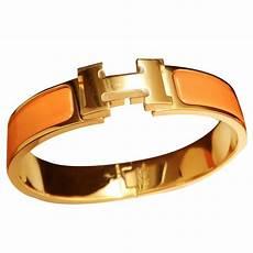 herm 232 s bracelets bracelets ceramic orange ref 10318 joli