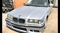 bmw e36 328i coupe sport m tech wrecked parts for sale
