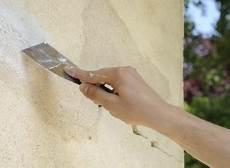 comment sabler une facade comment reparer une fissure exterieure toupret comment