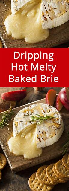 easy baked brie cheese appetizer recipe with honey melanie cooks