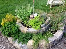 Gartenbeet Mit Steinen Anlegen - herb spirals philly permaculture