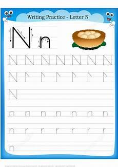 letter n n worksheets 24153 letter n is for nest handwriting practice worksheet free printable puzzle