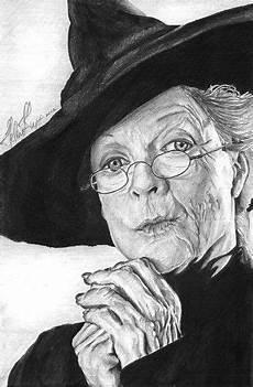 Malvorlagen Gesichter Harry Potter Minerva Sketchart Minerva Professor Mcgonagall Fan