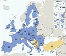 eu länder karte file eu member states and candidate countries map svg
