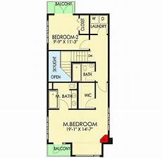 modern house plans for narrow lots plan 84903sp narrow lot contemporary home plan planos