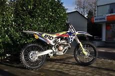 umgebautes motorrad husqvarna fc 250 motobike handels