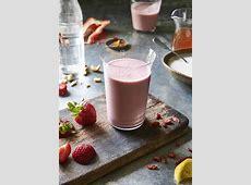 strawberry banana smoothie_image