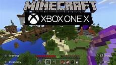 Malvorlagen Minecraft Xbox One Minecraft Xbox One X Gameplay In 1080p Supersling
