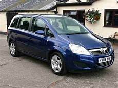 vauxhall 2008 zafira 1 6 exclusiv 7 seater mpv car for sale