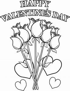 Coloring Pages For Valentines Day Happy Valentines Day Coloring Pages Best Coloring Pages
