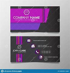 colorful name card template modern colorful business card template presentation design