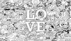8 cara membuat doodle simple lucu name 40 gambar