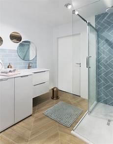 salle de bain bleu gris envie de salle de bain d 233 co clem around the corner