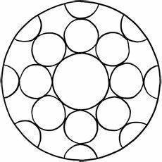 Malvorlagen Einfache Formen Einfache Mandala Vorlage Mandalas Mandalas Mandala
