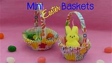 Diy Mini Easter Baskets Easter Craft