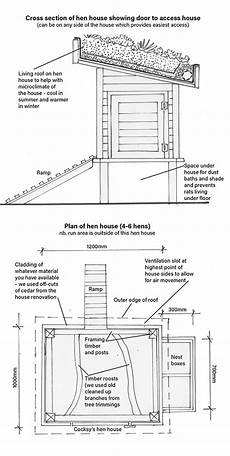 chook house plans how to build a chicken coop with a living roof thisnzlife