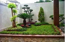 Foto Taman Sederhana Modern Minimalis Ide Berkebun