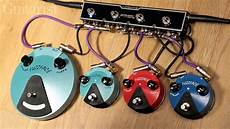 fuzz minis dunlop fuzz mini ffm1 silicon ffm2 germanium ffm3 jimi pedal demo
