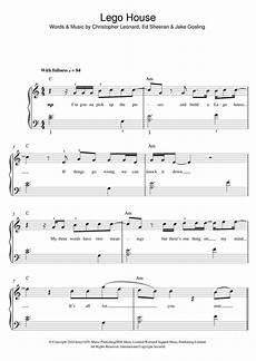 lego house piano sheet lego house sheet music by ed sheeran beginner piano 119253