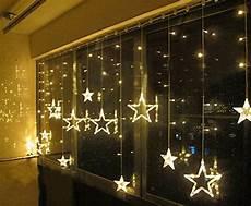 Smithroad 169er Led Lichtervorhang Lichterkette Sterne