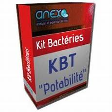 kit analyse eau kit bacteries totales kbt analyse d eau potabilit 233 anexo
