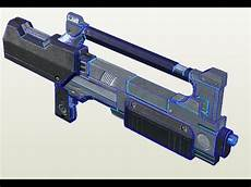 warframe blender models how to make warframe braton rifle papercraft part 3 trextures youtube