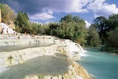 piscine termali bagno vignoni cascate mulino springs in saturnia visit tuscany