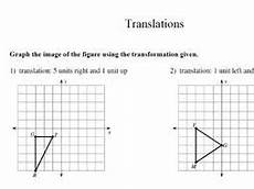 gcse maths worksheet translation by theeducationspecialist teaching resources