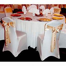 wedding chair covers india white and golden lycra and velvet wedding chair cover rs