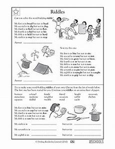 riddle worksheets for grade 5 10905 5th grade reading writing worksheets word building riddles reading worksheets 5th grade